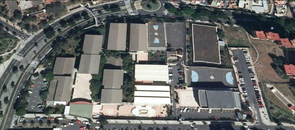 Vista area CIFP César Manrique