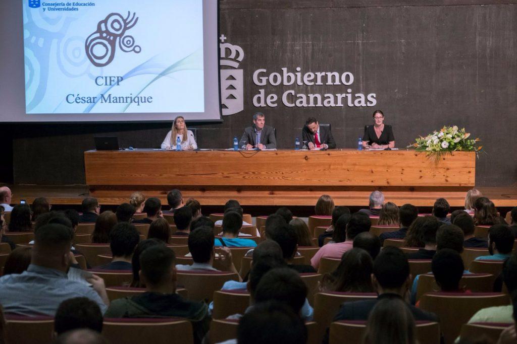 CIFP César Manrique - Segundas Jornadas de Comunicación, Empresa y Creatividad
