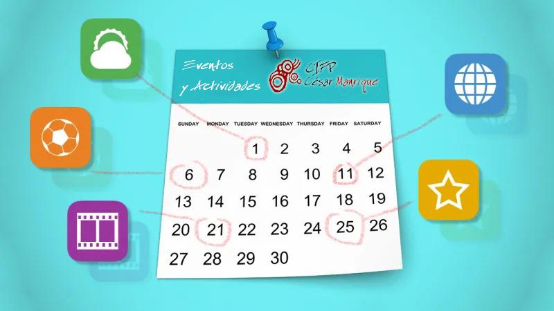 CIFP César Manrique Calendario Actividades