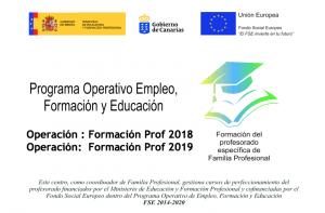 Programa Operativo Empleo, Formación y Educación