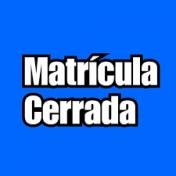 Matrícula Cerrada CIFP César Manrique