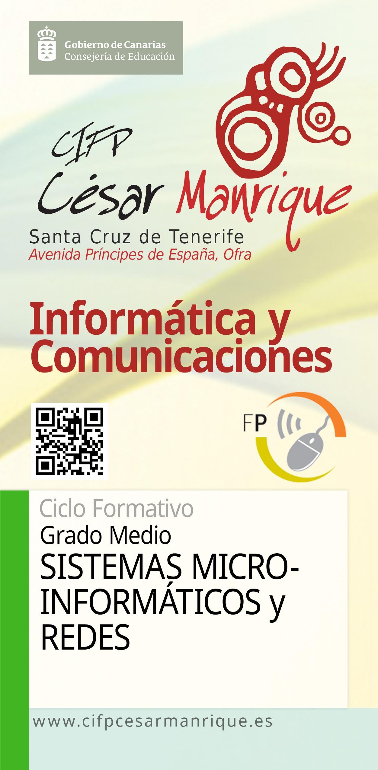 Grado Medio Sistemas Microinformáticos y Redes
