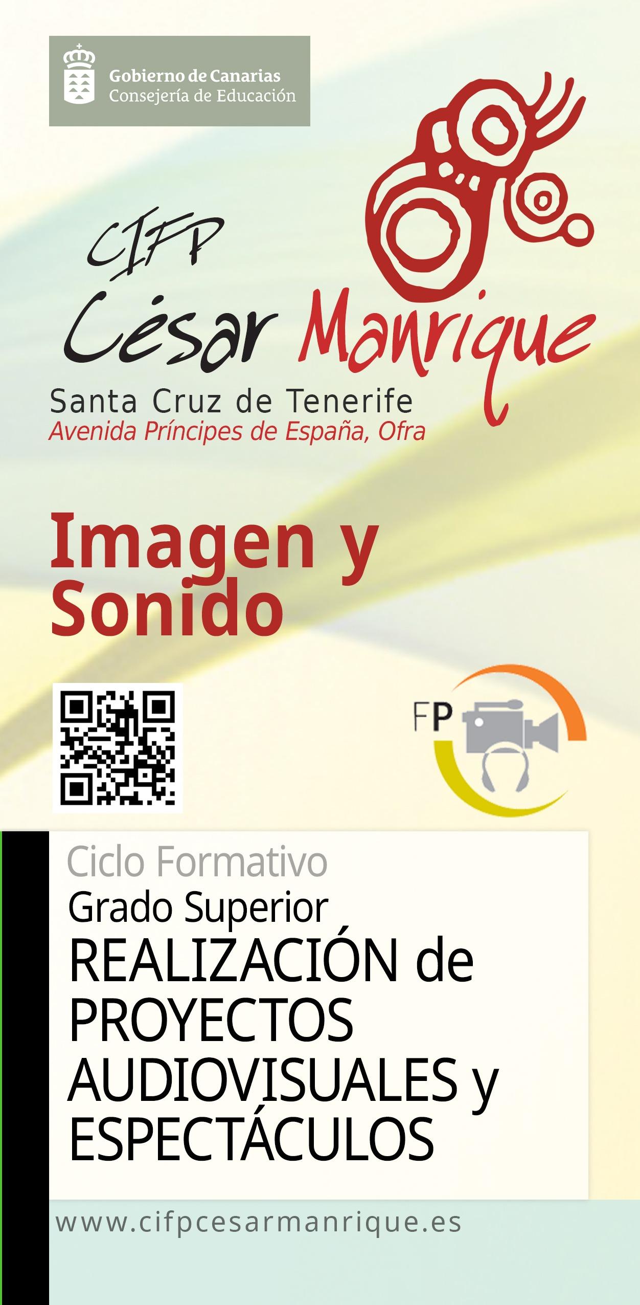 Grado Superior Realización de Proyectos Audiovisuales y Espectáculos