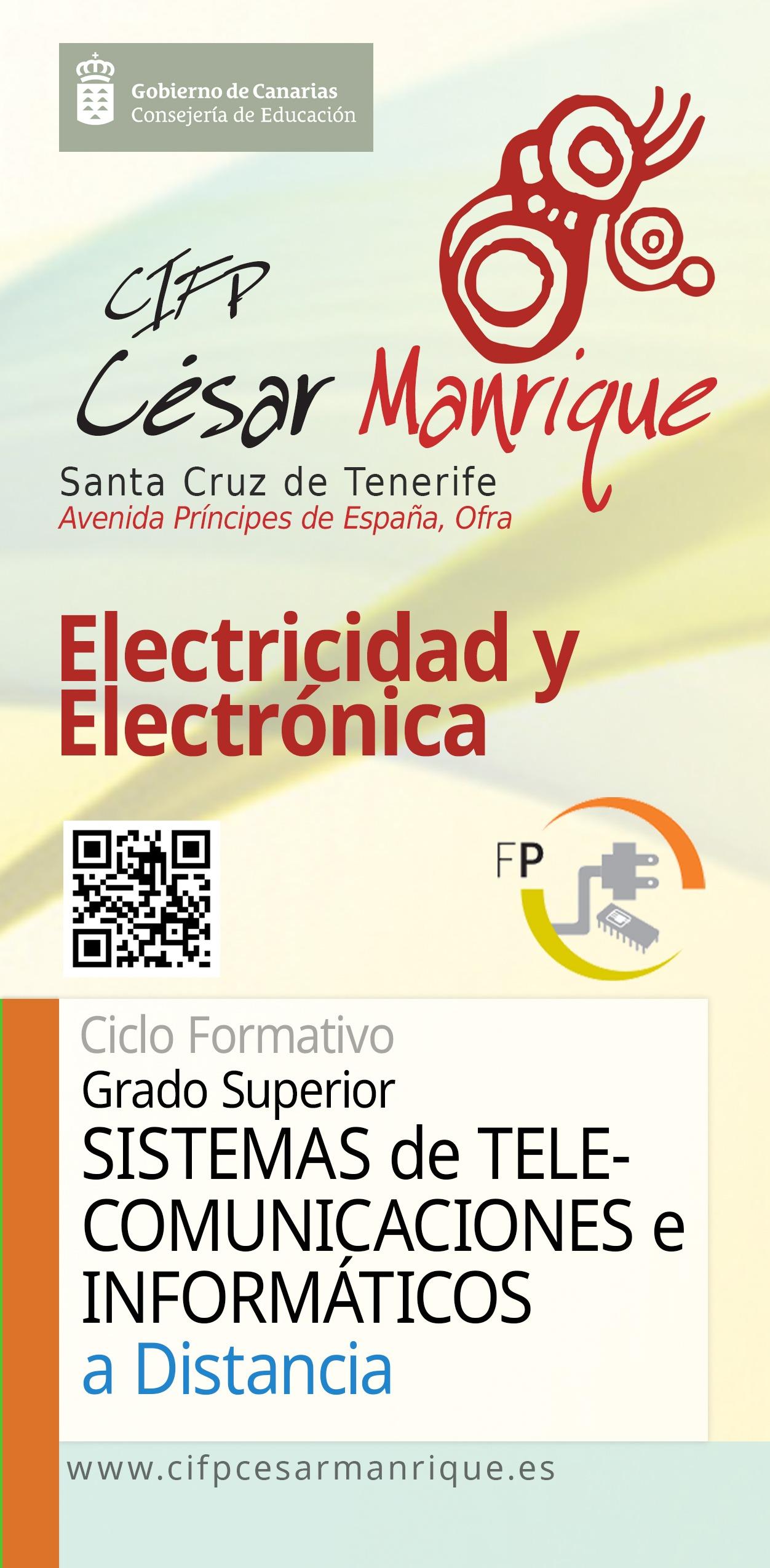 Grado Superior Sistemas Telecomunicaciones e Informáticos Semipresencial