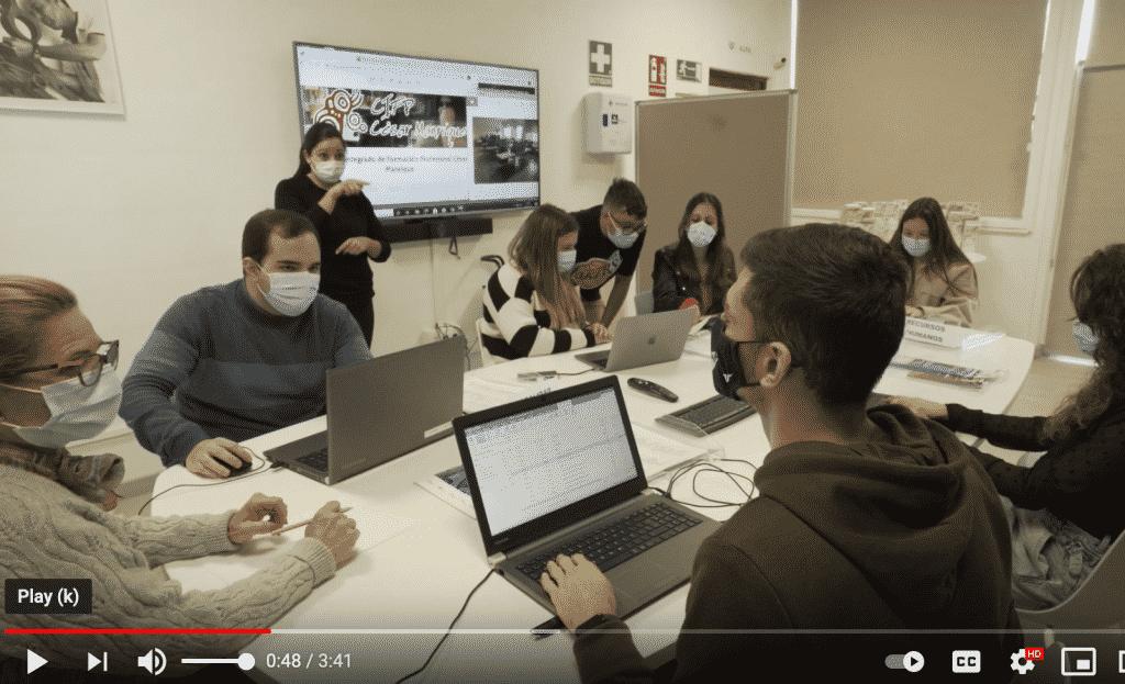 Vídeo promocional de los ciclos formativos del CIFP César Manrique