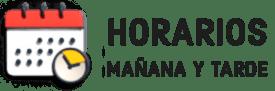 Horario Mañana y Tarde
